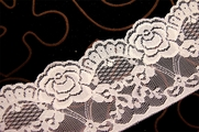 "3 1/4"" Off White Floral Lace Trim #249"