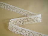 Pure White Floral Fine Lace Trim