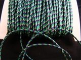 Purple Green Gold Metallic Cord Trim