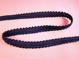 Navy French Gimp Braid Trim