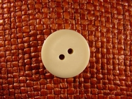 "Italian Thick Coat Buttons Wholesale (36pcs) 7/8"" Off White 2 Hole Sewing Button"