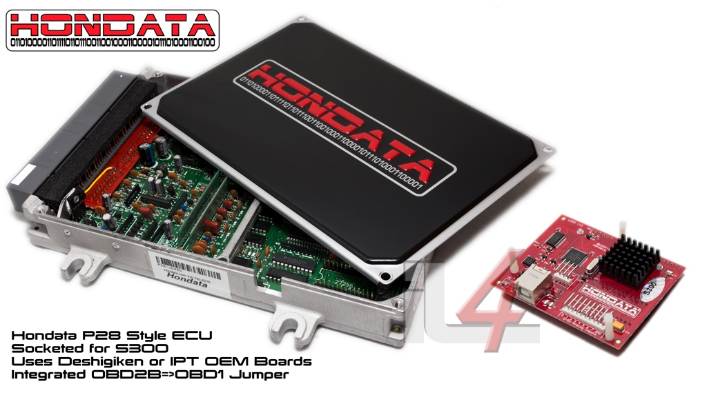 Hondata P28 Style ECU for S300 Engine Management System
