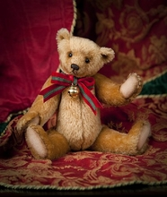 "12"" WILLOUGHBY - RJW Christmas Bear*"
