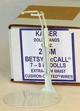 "7""- 8"" stands (dozen) for Tiny Betsy McCall - BEST stand for 10"" Cissette"