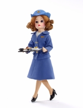 "10"" COFFEE OR TEA WITH PAN AM - 1970s Stewardess"