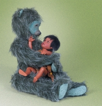 "7.5"" LITTLE MOWGLI & BALOO SET*"