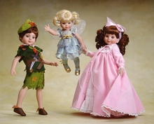 PETER PAN SCHOOL PLAY - 3 dolls