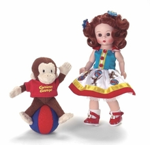 "8"" PLAYTIME WITH CURIOUS GEORGE"