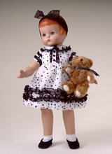 "POLKA DOT PARTY - outfit for 18"" doll*"