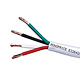 100ft 14AWG CL2 Rated 4-Conductor Loud Speaker Cable (For In-Wall Installation)
