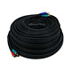 100ft 22AWG 3-RCA Component Video Coaxial Cable (RG-59/U) - Black