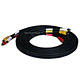 15ft Triple RCA Stereo Video Dubbing Composite Cable (3 x RG59U)