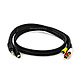 3ft S-Video 3.5mm Stereo to Composite RCA RCA Stereo Combo 22AWG Cable (Gold Plated)
