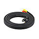 10ft S-Video 3.5mm Stereo to Composite RCA RCA Stereo Combo 22AWG Cable (Gold Plated)