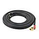 15ft S-Video 3.5mm Stereo to Composite RCA RCA Stereo Combo 22AWG Cable (Gold Plated)