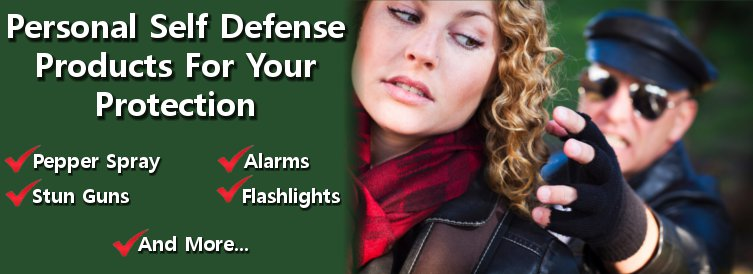 personal self defense products