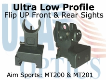 Ultra Low-profile Sight Set