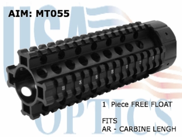 AR Carbine Length, Free Float QR