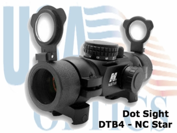 NC Star DTB4, 4 Reticles, Red Dot