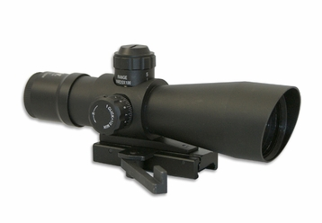 6X42 ILLUMINATED .223 BDC SCOPE