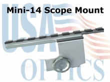 MINI-14 Scope Mount Silver