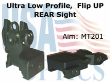 Rear Sight, Low Profile
