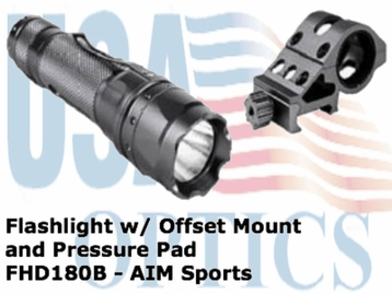 FLASHLIGHT w/ OFFSET MOUNT