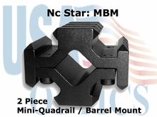 UNIVERSAL BARREL QUAD MOUNT