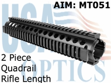 AR Rifle Length, 2 PC, QR