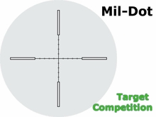 Nightforce:  MIL-DOT Reticle
