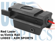 Red Laser w/ Extra Rail