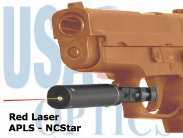 RED LASER, ATTACH TO TRIGGER GUARD