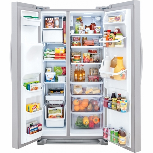 FGHS2655PF Frigidaire Gallery 26 Cu. Ft. Side-by-Side Refrigerator - Stainless Steel