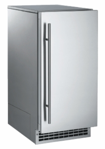 SCN60GA1SU Scotsman Brilliance Nugget Ice Machine with Gravity Drain - Stainless Steel Cabinet/Panel Required