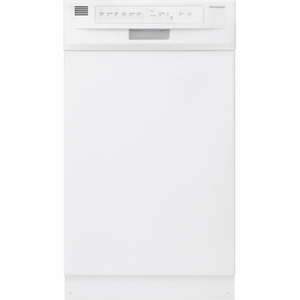 "FFBD1821MW Frigidaire  18"" Built-In Dishwasher - White"