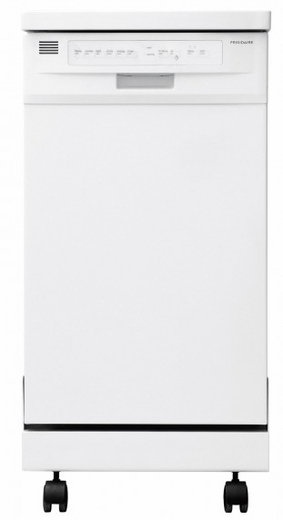 "FFPD1821MW Frigidaire  18"" Portable Dishwasher - White"