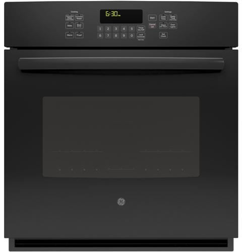 "JK5000DFBB GE 27"" Built-In Single Convection Wall Oven - Black"