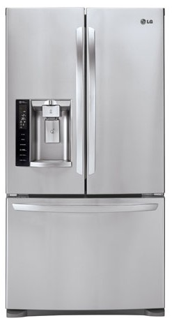 Lfx28968st Lg Ultra Capacity 3 Door French Refrigerator With Smart Cooling Stainless Steel