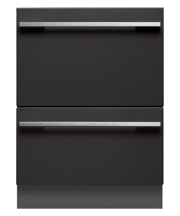 DD24DI7 Fisher & Paykel Integrated Double DishDrawer - Custom Panel