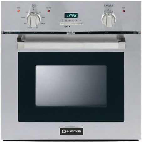 "VEBIE24PSS Verona 24"" Self-Cleaning Electric Wall Oven - Stainless Steel"