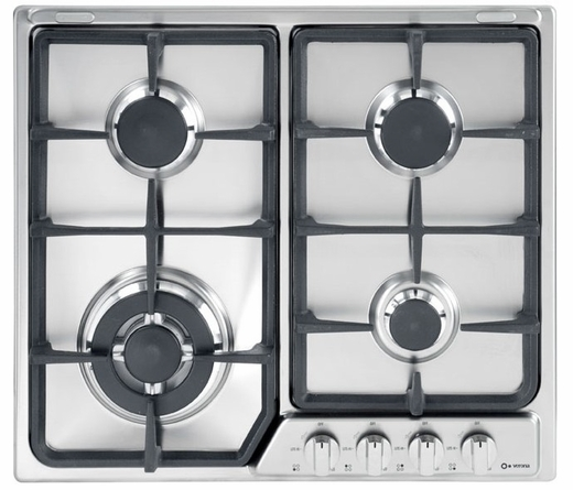 "VEGCT424FSS Verona 24"" Deluxe Gas Cooktop - Stainless Steel"