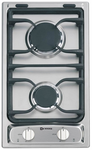 "VEGCT212FSS Verona 12"" Deluxe Gas Cooktop - Stainless Steel"