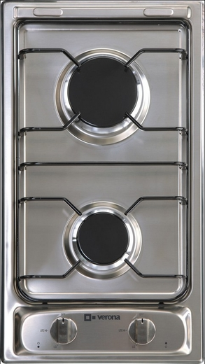 "VECTG212FDS Verona 12"" Gas Cooktop - Stainless Steel"