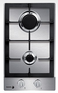 """FA-320SX Fagor 12"""" Gas Cooktop - Stainless Steel"""