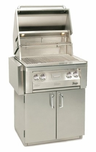 "VBQ30GC Vintage 30"" Grill Cart - Stainless Steel"