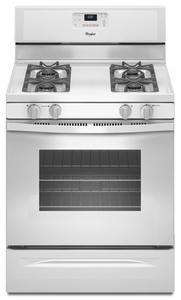 WFG510S0AW Whirlpool 5.0 cu. ft. Capacity Gas Range with AccuBake Temperature Management System - White