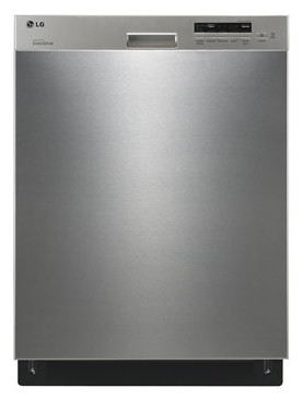 LDS5040ST LG Semi-Integrated Dishwasher with Flexible EasyRack System - Stainless Steel