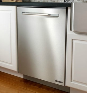 "RDW24S Dacor 24"" Heritage Collection Dishwasher with RapidDry and WhisperWash System -  PrintFree Fingerprint Resistant Stainless Steel"