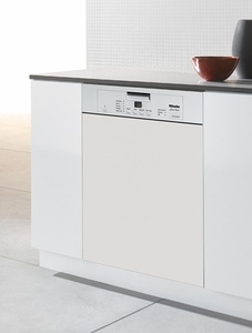 G4225WH Miele Futura Classic Pre-Finished Dishwasher with Cutlery Basket - White
