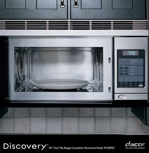 Pcor30s Dacor Discovery Over The Range Microwave Convection Stainless Steel